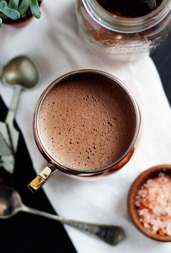 Morning Rituals: Superfood Hot Cocoa Mix (Vegan + Paleo Friendly) | Free People Blog | Bloglovin'