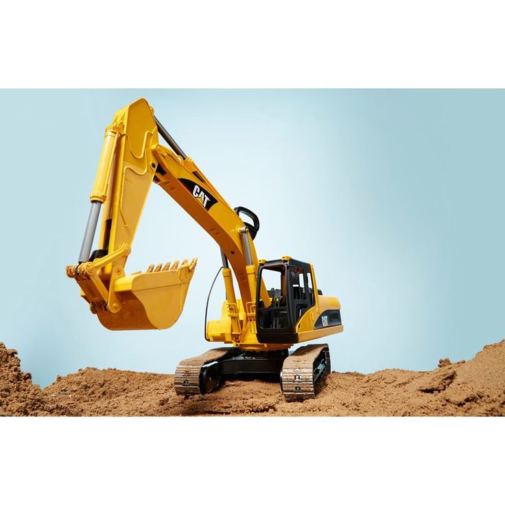 Bruder CAT Excavator image-1