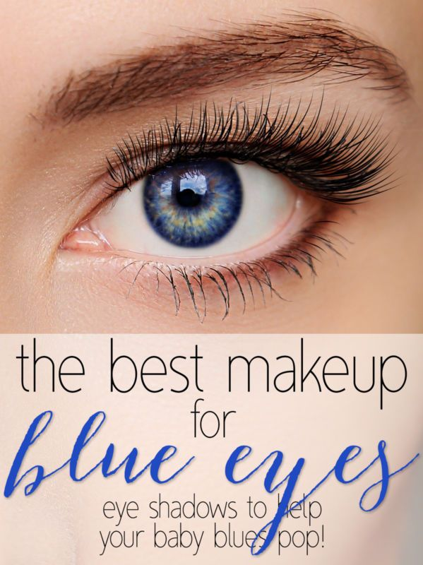 Make the most of those baby blues!  #makeup to make them pop!