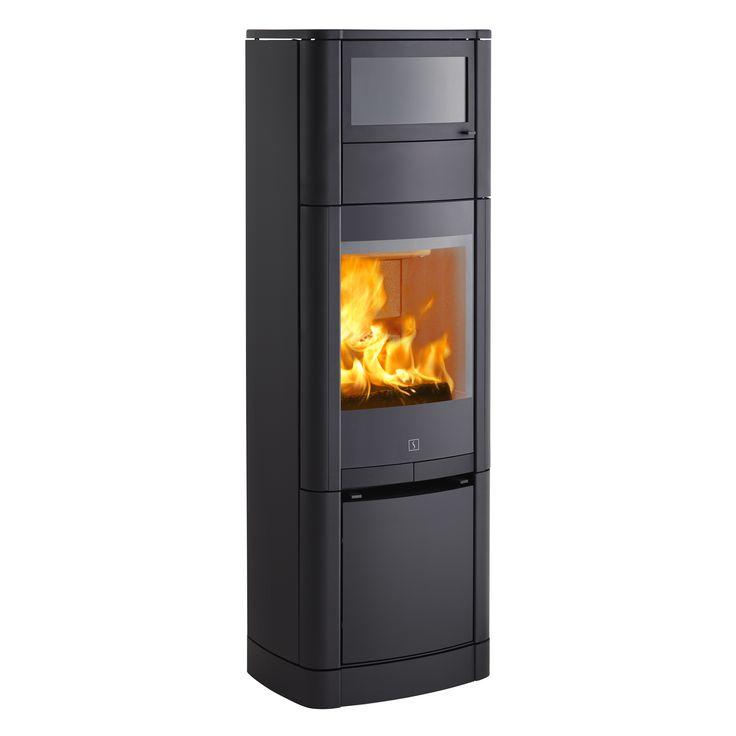 Oppvarming og baking i ett!  Scan 65-5 har et integrert bakerom over brennkammeret. Perfekt til tilberedning av små retter. Bakerommet er emaljert og har en bunnplate i glass, så den er lett å rengjøre. Som tilbehør finnes en topplate i kleberstein.