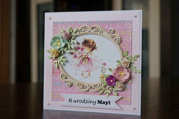 Beautiful birthday card for a girl  https://www.facebook.com/myrainbowfields