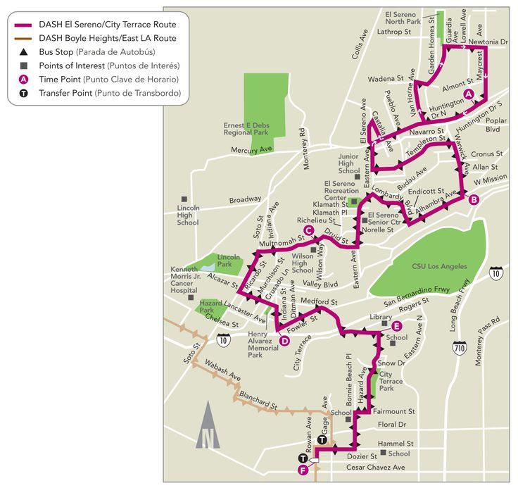 DASH Fairfax Map