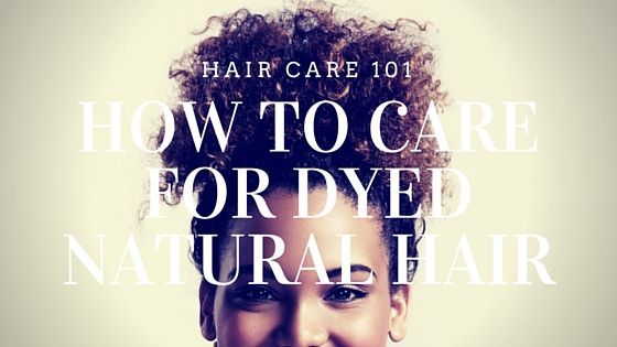 how to take care of blonde dyed hair