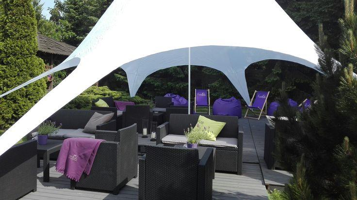 #chillout #taras #lavender #hotel #Poznań