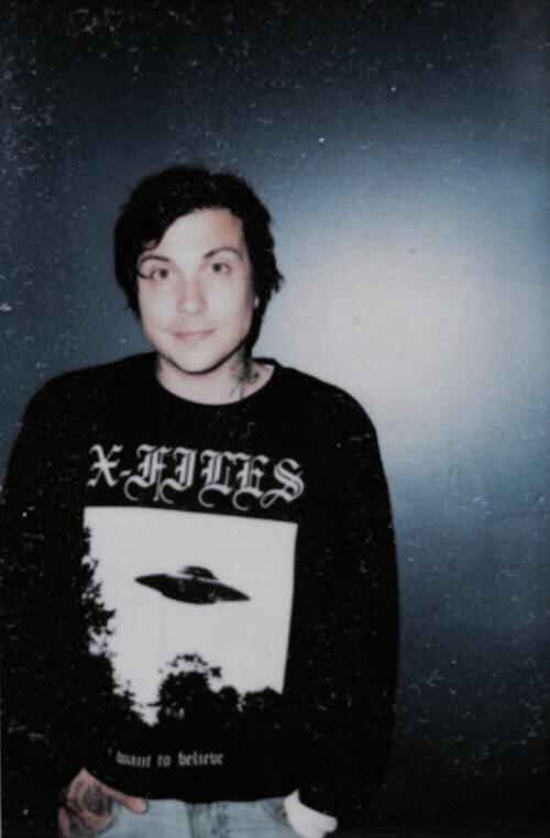 i don't think i'll ever love anyone more than i love frank iero