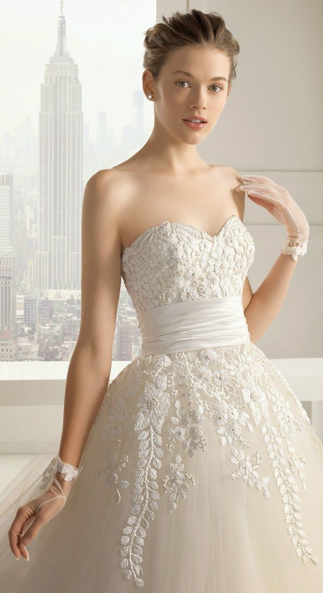 Ball Gown Wedding Dresses : Rosa Clara 2015 Bridal Collection  Part 2  Belle the Magazine . The Wedding Bl