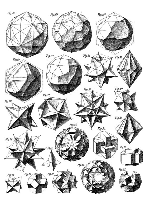 Sacred Geometry: Printed Edition | Illustrated Monthly