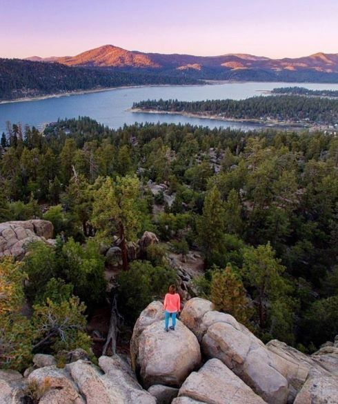 Big Bear Lake California by @everydaycalifornia