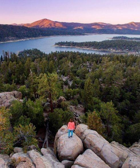 Big Bear Lake California by @everydaycalifornia
