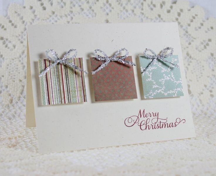 cricut christmas card ideas | Handmade Holiday - Christmas Greeting Card. ... | Cricut Craft Ideas