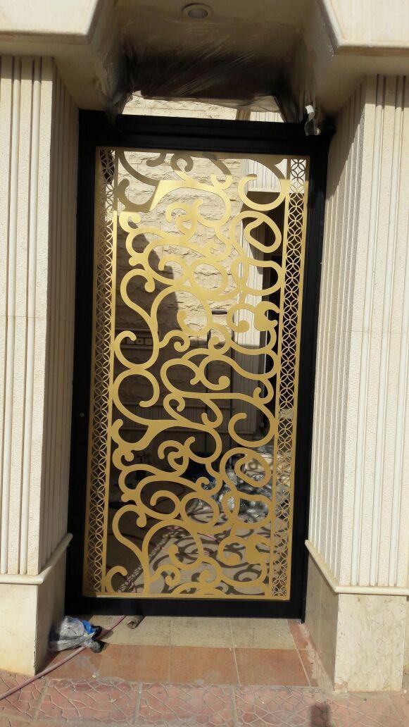 Saudiarabia Riyadh Doors Gates Design Cnc Lifestyle Modern Cadd Beautiful Metaldoor Lasercut ابواب Door Design Metal Door Baroque Design