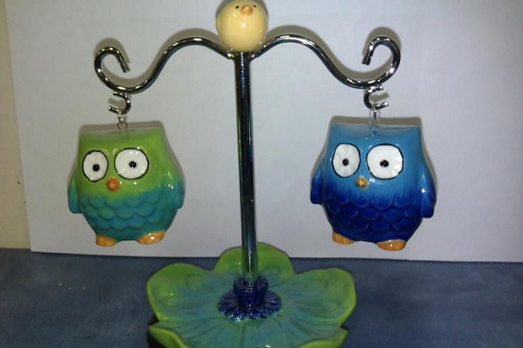 Owl Salt and Pepper Shakers 16.99 Call 843-236-5230 if interested
