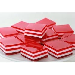 Valentine's 5-Layer Finger Jello