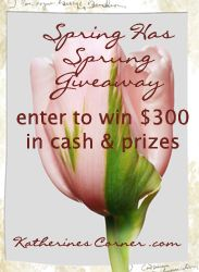 Spring Has Sprung Giveaway - The Casual Craftlete - Craft. Cook. Run.