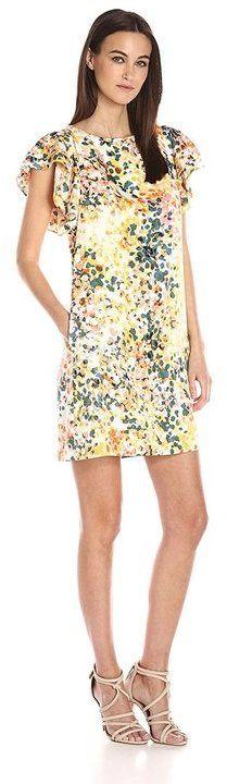 Donna Morgan D5099M Multi-Colored Printed Dress