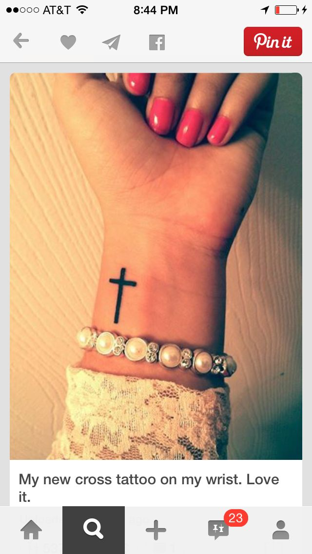 I want this cross!