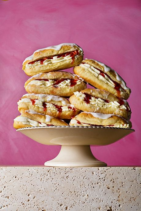 Paul Hollywood's iced fingers. Photograph: Romas Foord for Observer Food Monthly
