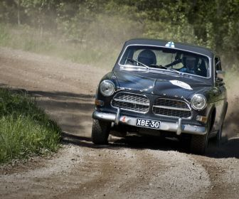 Volvo rally.. classic style.