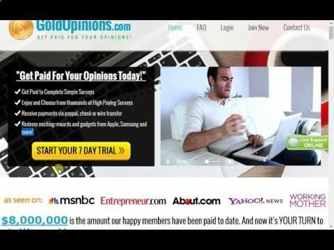 """""""Get Paid For Your Opinions Today!"""" 1 Get Paid to Complete Simple Surveys 2 Enjoy and Choose from thousands of High Paying Surveys 3 Receive payments … source ...Read More"""
