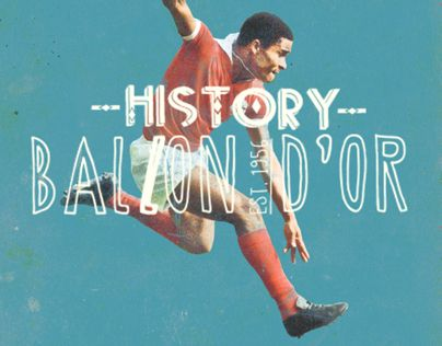 """Check out this @Behance project: """"History Ballon D'Or"""" https://www.behance.net/gallery/9757655/History-Ballon-DOr"""
