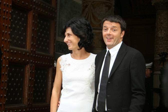 Matteo Renzi è sposato.