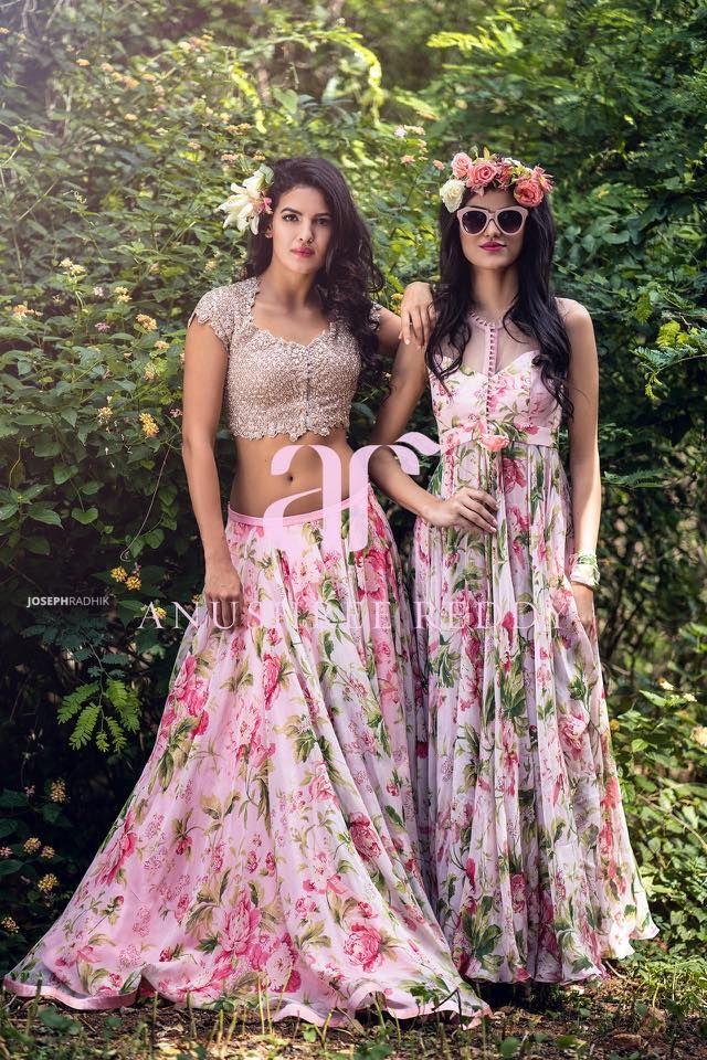 Anushree Reddy Bridal Saree and Lehenga Collection 2016