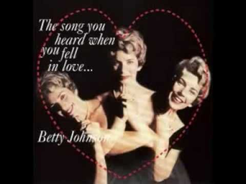 Betty Johnson - I Get The Blues When It Rains