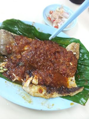 Eating All the Way!: Grilled Fish @ BBQ Grilled Fish Clementi