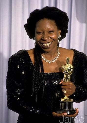 Whoopi Goldberg won best supporting actress for Ghost in 1990                                                                                                                                                                                 More