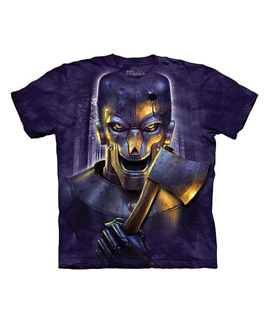 Purple The Woodsman Tee - Unisex