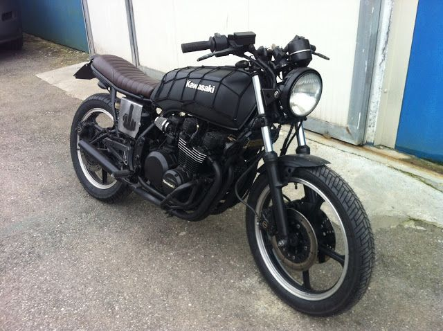 1982 Kawasaki GPZ 550 - featured on Cafe Racer Culture