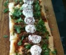 Middle Eastern Lamb Pide by MEREDITH