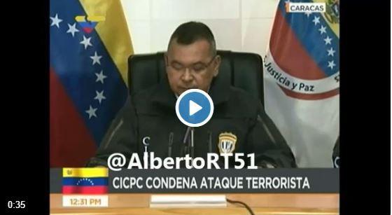 Reverol ordena derribar el helicóptero de Oscar Perez