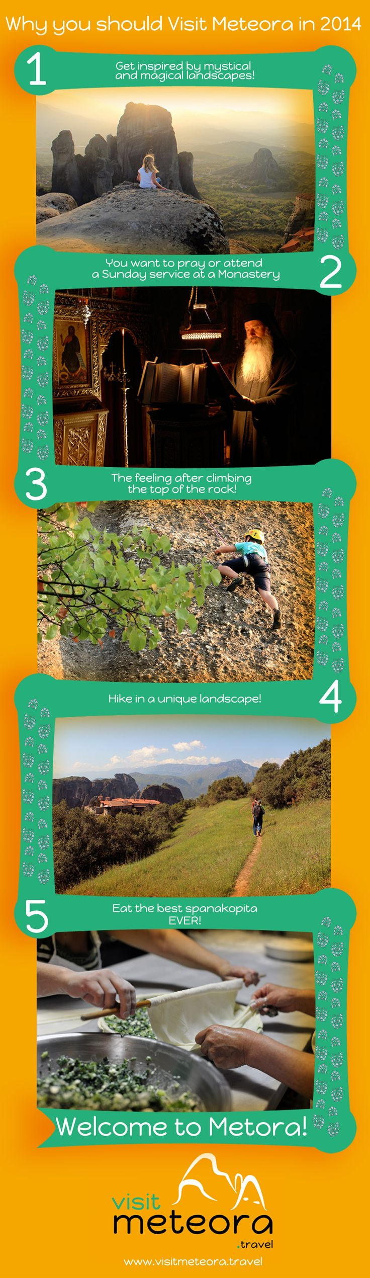 5 reasons why you should Visit #Meteora in 2014!