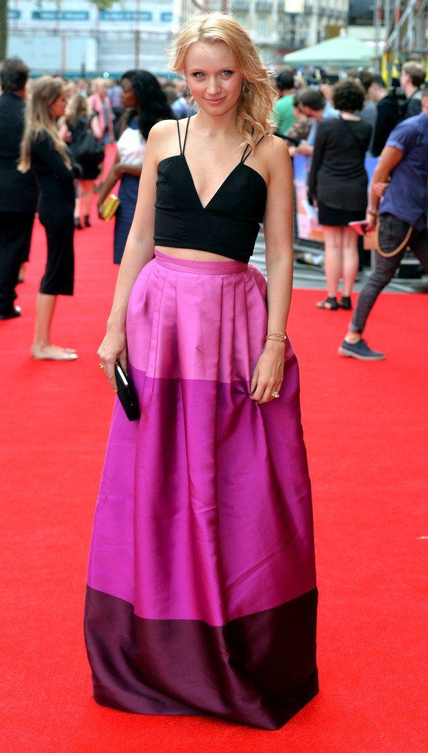 "Emily Berrington At The Premiere Of ""The Inbetweeners 2"""