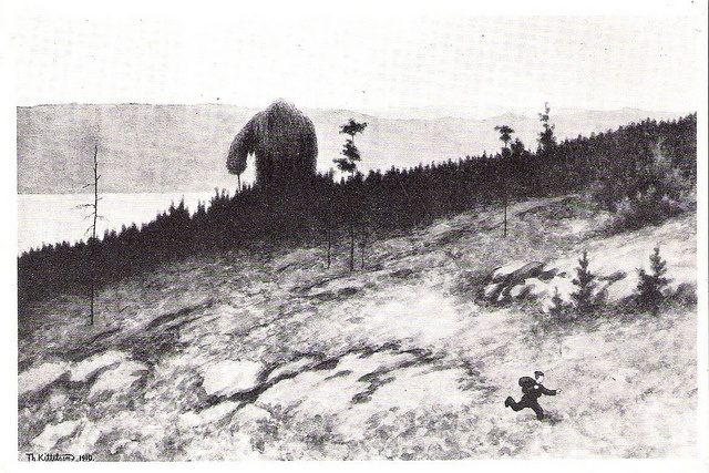 Theodor Kittelsen - Troll On The Mountain Moores by Aeron Alfrey, via Flickr