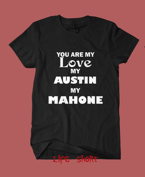 austin mahone net worth shirt tshirt clothing tour concert S-XL