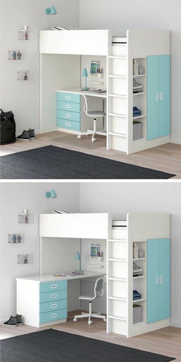 Le Nouveau Catalogue Ikea 2020 Va Nous Endormir Amenagement Chambre Enfant Amenagement Chambre Lit Bureau Enfant