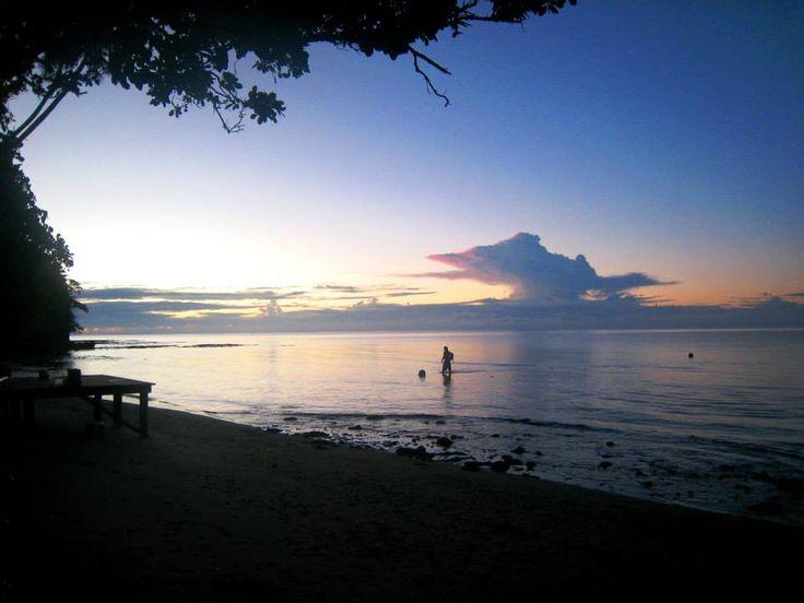 After a long days work, Fiji