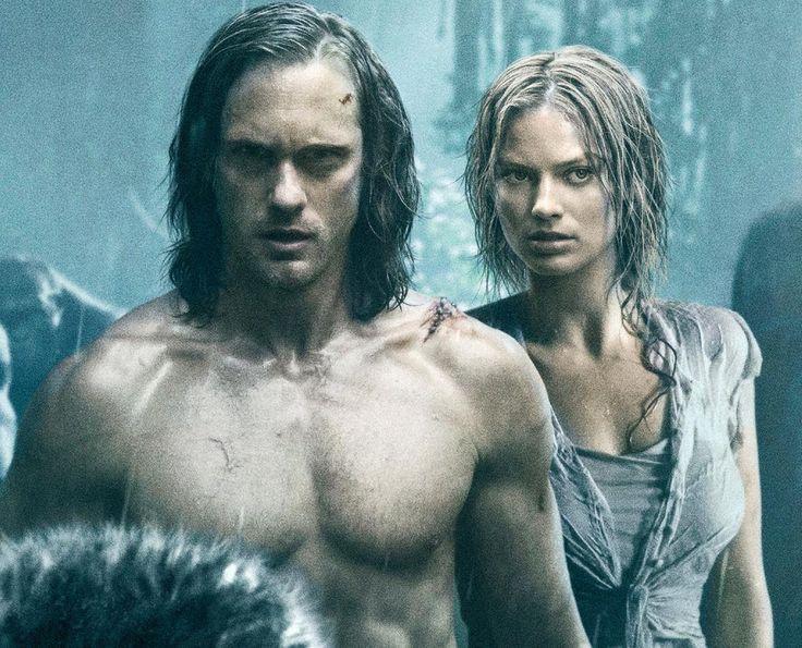 'The Legend of Tarzan' - Swede Alexander Skarsgard as Tarzan and Australian Margot Robbie as Jane.