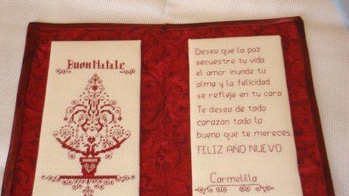 Una hermosa tarjeta que me envio Josefina Lugo de Islas Canarias