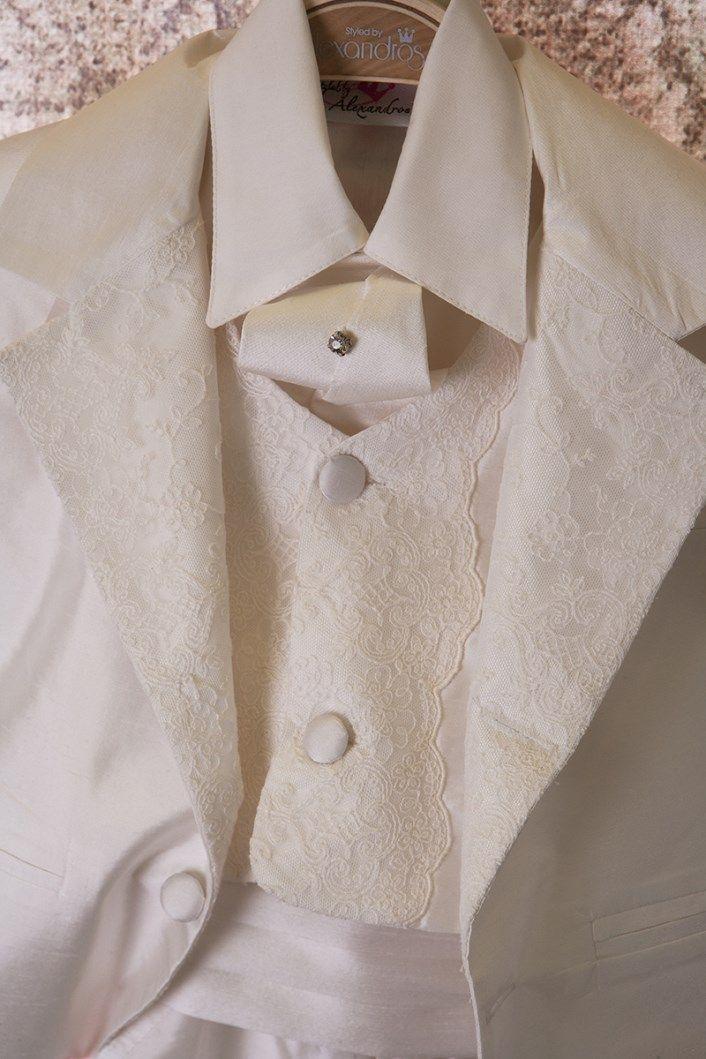 Christening Suit Baptism Suit  Sty.No G 1014-1 www.babyhautecouture.com