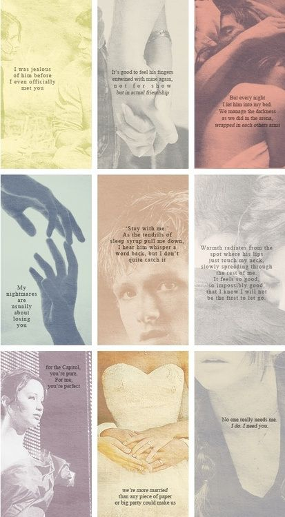 Oh, Peeta. Such a romantic. HungerGames