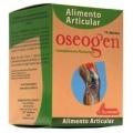 Oseogen está indicado en caso de artrosis, artritis, osteoporosis y cualquier problema de huesos y articulaciones  Ingredientes: 1500mg de cartílago de tiburón, 225mg de colágeno marino hidrolizado, 180mg de calcio citrato, 75mg de citrato de magnesio, 78mg de bromelaina, 30mg de gluconato de hierro, vitamina B3, pantotenato cálcico, vitamina B6, B2, B1, B12, selenio, Vitamina D3 y fluoruro de sodio.La falta de vitaminas, minerales