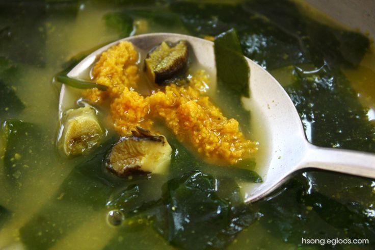 녹두장군의 식도락 : [제주도] 중앙식당 - 성게보말국