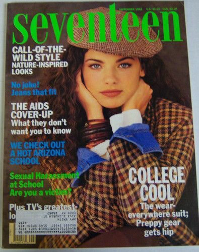 September 1992 cover with Luisa Norbis
