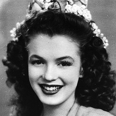 *Norma Jeane Dougherty, 1941 (Marilyn Monroe at 15 years old) ~ Marilyn Monroe Biography - Death, Quotes, Photos, Video - Biography.com - Biography.com