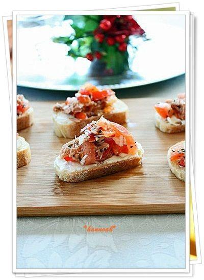 「塩麹ツナトマト カナッペ」のレシピ by *hannoah*さん | 料理レシピブログサイト タベラッテ