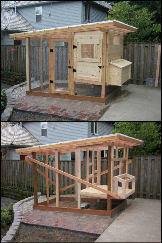 22 low budget diy backyard chicken coop plans keeping for Cute chicken coop ideas