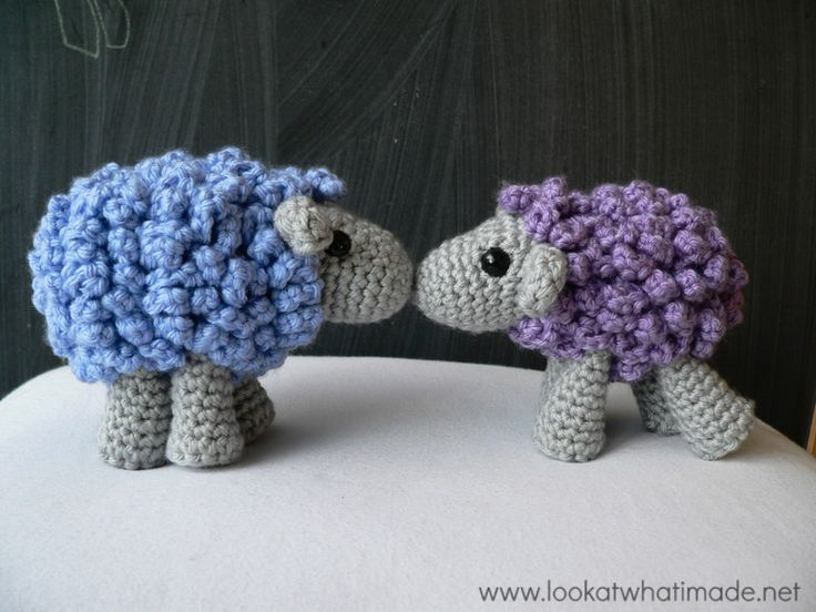 Shorn the Crochet Sheep - Free Amigurumi Pattern here: http://www.lookatwhatimade.net/crafts/yarn/crochet/free-crochet-patterns/shorn-crochet-sheep-little-zoo-animal/